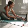 Fitnessmatte, rutschfest, komfortabel für Faszientraining, Yoga & Fitness