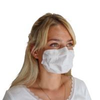 Selbsthaftende Atemschutzmaske