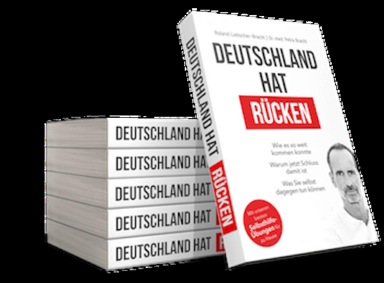Deutschland hat Rücken – das neue Buch aus dem Hause Liebscher & Bracht
