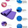 Herstellerinfo zur NBR Fitnessmatte