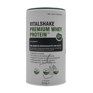 VitalShake Whey Protein HFQ - Kakao, Front-Ansicht
